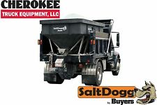 Saltdoggbuyers Products Shpe6000 Bulk Salt 5050 Saltsand Mix Spreader Black