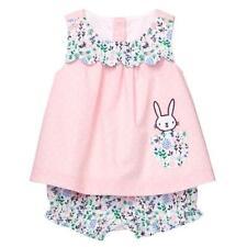 NWT Gymboree Baby Bunny Rabbit Swing Top Bloomer Short Set Easter Baby Girl