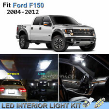 9pcs Bright White Interior LED Lights Package Kit For 2004-2012 Ford F150