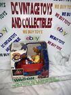 Vintage 1997 Geoffrey's World Giraffe Toys R Us Red Wagon Pull Toy W/ Rare Box!!