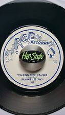 FRANKIE LEE SIMS 45 RE -WALKING WITH FRANKIE- FANTASTIC ACE BLUES BOPPER CLASSIC