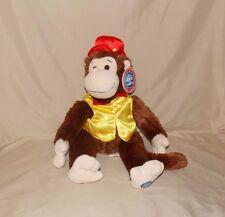 "Ringling Bros Barnum & Bailey Circus Brown Monkey Stuffed Plush NWT 16"" Keepsake"