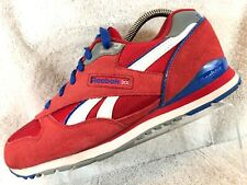 Reebok Classic Red Suede Lace Up Athletic Running Tennis Sneaker Shoes Men's 7