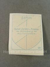 80294 Wehrmacht ejercito casco de acero estampado escudo de armas, escudo emblema, Jordan & Koerner