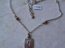 Brighton beaded chain fashion necklaces pendants ebay brighton necklacelvertone bronze bead strand chain must nwt aloadofball Gallery