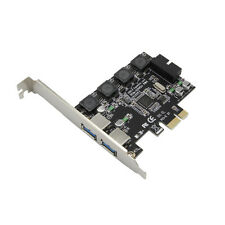 PCI-e X1 to 4 Port USB 3.0 Card (2 External Port + 19pin Header 2 Internal Port)