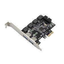 PCI-e X1 to 4 Port USB 3.0 Card (2 External Port + 19pin Header 2 Internal Port)