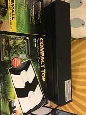 New listing Exo Terra Small Compact Top Terrarium Canopy Reptile Habitat Light Fixture 2226
