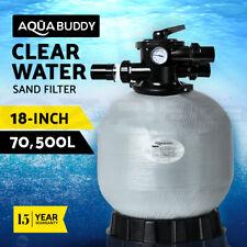 """Aquabuddy 18"""" Swimming Pool Sand Filter 18Inch Pool Filter Fiberglass Fibreglass"""
