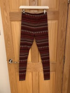 New Look Aztec Leggings Size Small