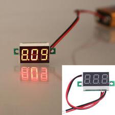 """0.36"""" Digital Voltmeter DC 4.5-30V 2 Wires Red LED Display Panel Voltage Meter"""