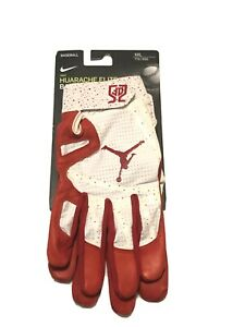 Nike Jordan MLB Huarache Elite Dexter Fowler Batting Gloves ST. L Cardinals 2XL