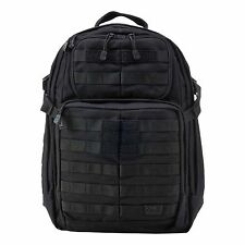 5.11 Tactical RUSH 24 Backpack Combat Military Day Rucksack - Black