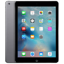 "Apple iPad Air 9.7"" WiFi 64GB iOS Tablet - Space Gray - Removed Etching On Back"
