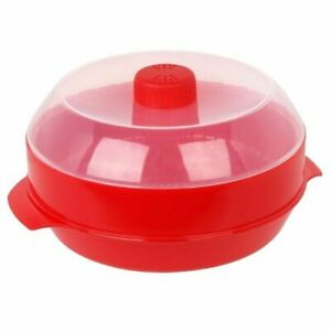 Microwave Steamer Healthy Cooking Quick Fast Vegetables Meats Poultry Fish