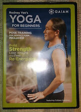 Rodney Yee's Yoga for Beginners, DVD in excellent condition L@@K!