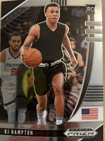 2020-21 Panini Prizm Draft Picks Holo Silver RJ Hampton #13 Rookie RC Nuggets