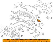 AUDI OEM 03-06 A4 Convertible/soft Top-Locator 8H0825297A