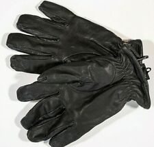 HATCH Sb8500 Leather Gloves with Cut-Protection Insert Black, Size large, EU10