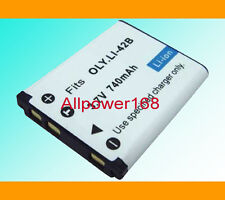 Digital Camera new Battery pack for LI-42B 40B OLYMPUS Rechargeable