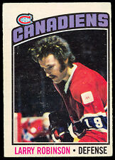 1976-77 OPC O PEE CHEE 151 LARRY ROBINSON EX COND MONTREAL CANADIENS HOCKEY CARD