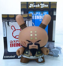 "DUNNY 3"" GOLD LIFE SERIES HUCK GEE NOT SO GLORIOUS SOARING HATCHET MUNK KIDROBOT"