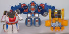 Transformers Go-Bots AEROBOT, FIREBOT and STRONGBOT. Playskool 2002.  preowned.
