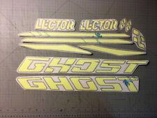 Adesivi GHOST LECTOR giallo fluo - adesivi/adhesives/stickers/decal/cristal