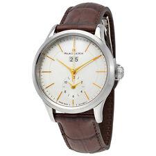 Maurice Lacroix Les Classiques Grande Date GMT Automatic Silver Dial Mens Watch