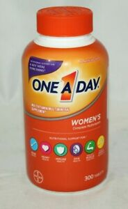 NEW One A Day Women's 300 Multivitamin Tablets, EXP 08/21+