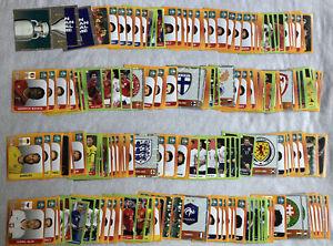 Choose 10 Panini UEFA Euro 2020 Tournament Edition Football Stickers From List