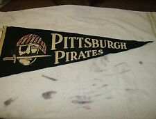 1950's pittsburgh pirates  Rare  Vintage Pennant Baseball full size