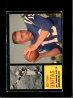 1962 TOPPS #1 JOHNNY UNITAS VGEX COLTS HOF  *X6391