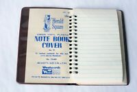 "Vintage 1950' Woolworth Herald Square Small 3"" x 5"" Note Book No. 91 Unused"