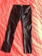Pantalon En Cuir  Balenciaga T38