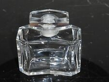 """FRENCH LEAD CRYSTAL PERFUME BOTTLE BY CRISTAL DE SEVRES 2 3/4"""" Tall"""