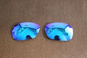 PolarLens POLARIZED Ice Blue Replacement Lens for-Oakley C-Wire Sunglasses
