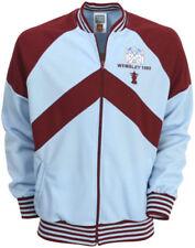 Abbiglimento sportivo da uomo giacche e gilet blu poliestere