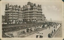 real photo; Eastbourne; queens hotel