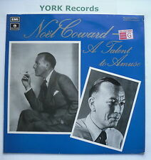 NOEL COWARD - A Talent To Amuse - Excellent Con LP Record Parlophone PMC 7158
