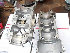 Skidoo-Rotax-Bombardier- TYPE 444 motor parts: CRANKCASE HALVES