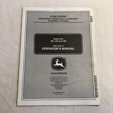 John Deere Utility Cart 10P, 10S, 16S Operators Manual OMM151091 L3 (39)