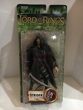 Lord Of The Rings-Fellowship Of The Ring, Strider W/ Sword Slashing Action NIP