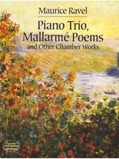 Maurice Ravel Piano Trio Mallarmé Poems And Other Chamber Works Group MUSIC BOOK