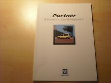 50696) Peugeot Partner Kombi Prospekt 07/2000