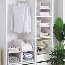 Closet Shelf Divider Rack Wardrobe Clothes Organizer Board Clapboard Compartment
