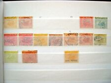 WESTERN AUSTRALIA SELECTION OF EARLY SWAN STAMPS.  LOT#41