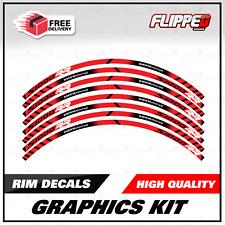 BMW S1000RR Wheel Rim Decal Kit Stickers Track Bike Race Bike Graphics