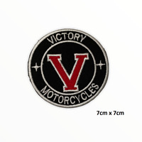 Victory Motorcycles Embroidered Iron On Sew On Patch Badge For Clothes Bags etc