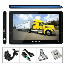 "Truck Gps Navigation Sat Nav Navigator Speed Cam& Xgody 7"" Portable Car&"